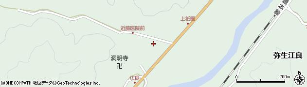 大分県佐伯市弥生大字江良1366周辺の地図