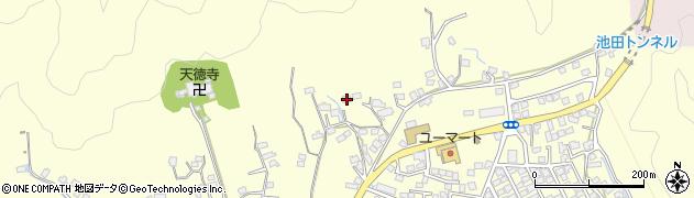 大分県佐伯市長谷8941周辺の地図