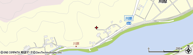 大分県佐伯市長谷10736周辺の地図