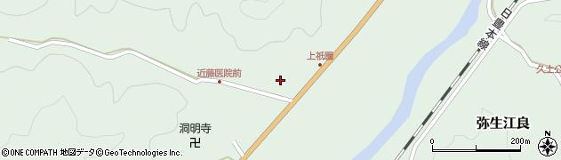 大分県佐伯市弥生大字江良1361周辺の地図