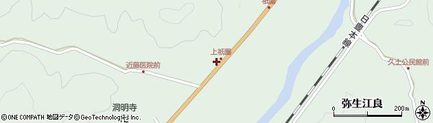 大分県佐伯市弥生大字江良1393周辺の地図