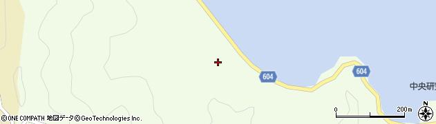 大分県佐伯市鶴見大字有明浦383周辺の地図