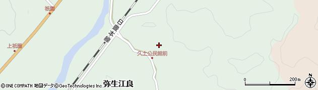 大分県佐伯市弥生大字江良2704周辺の地図