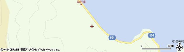 大分県佐伯市鶴見大字有明浦390周辺の地図