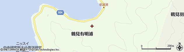 大分県佐伯市鶴見大字有明浦897周辺の地図