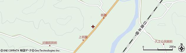 大分県佐伯市弥生大字江良1422周辺の地図