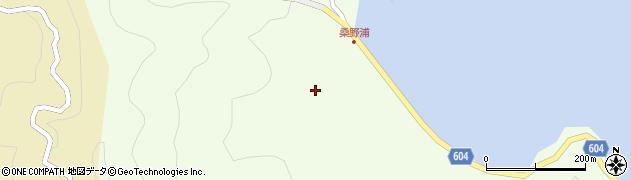 大分県佐伯市鶴見大字有明浦205周辺の地図