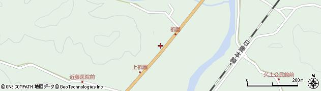 大分県佐伯市弥生大字江良1423周辺の地図