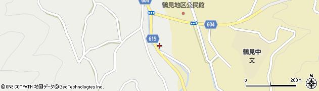 大分県佐伯市鶴見大字地松浦1926周辺の地図