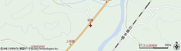 大分県佐伯市弥生大字江良2004周辺の地図