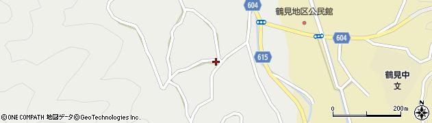 大分県佐伯市鶴見大字地松浦1472周辺の地図