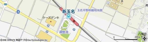 玉名観光協会周辺の地図