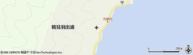 大分県佐伯市鶴見大字羽出浦600周辺の地図