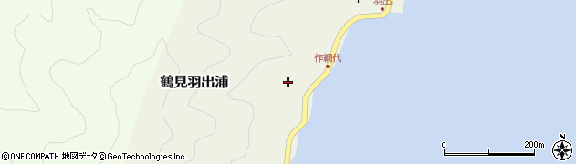 大分県佐伯市鶴見大字羽出浦602周辺の地図