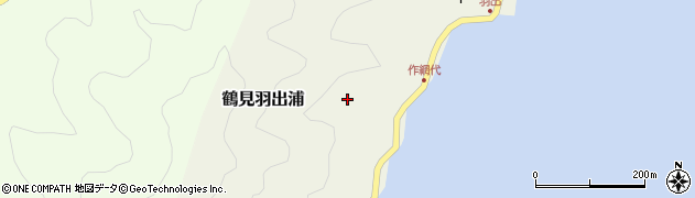 大分県佐伯市鶴見大字羽出浦652周辺の地図