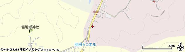 大分県佐伯市池田1072周辺の地図