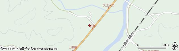 大分県佐伯市弥生大字江良1426周辺の地図