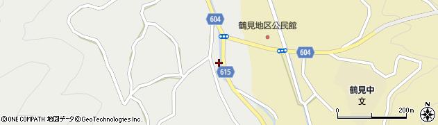 大分県佐伯市鶴見大字地松浦1935周辺の地図