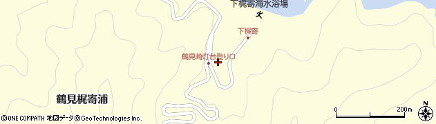 大分県佐伯市鶴見大字梶寄浦837周辺の地図