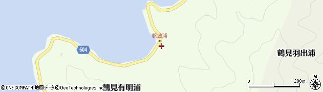 大分県佐伯市鶴見大字有明浦1085周辺の地図