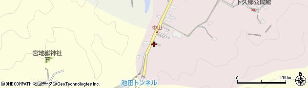 大分県佐伯市池田1117周辺の地図