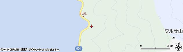 大分県佐伯市鶴見大字中越浦615周辺の地図