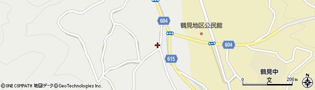 大分県佐伯市鶴見大字地松浦1652周辺の地図
