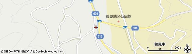 大分県佐伯市鶴見大字地松浦1938周辺の地図
