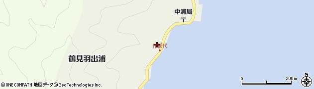 大分県佐伯市鶴見大字羽出浦588周辺の地図