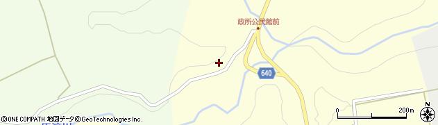大分県竹田市荻町政所583周辺の地図