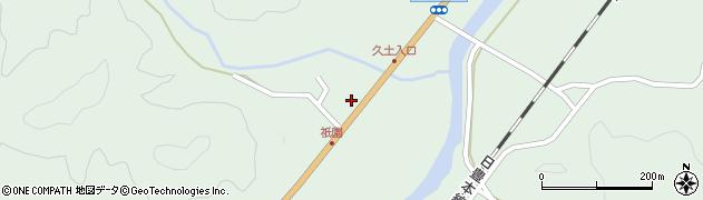 大分県佐伯市弥生大字江良1432周辺の地図