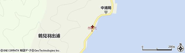 大分県佐伯市鶴見大字羽出浦586周辺の地図