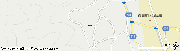 大分県佐伯市鶴見大字地松浦1186周辺の地図