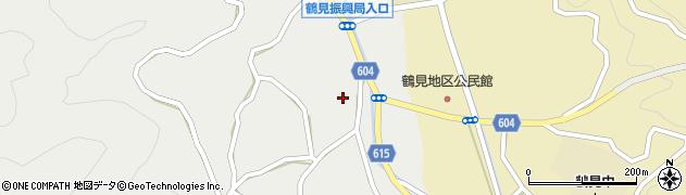 大分県佐伯市鶴見大字地松浦1368周辺の地図