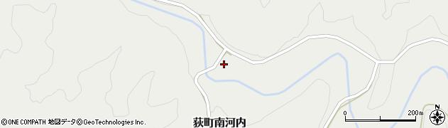 大分県竹田市荻町南河内397周辺の地図