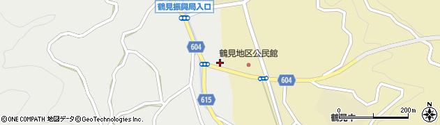 大分県佐伯市鶴見大字地松浦1954周辺の地図