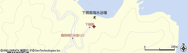 大分県佐伯市鶴見大字梶寄浦543周辺の地図
