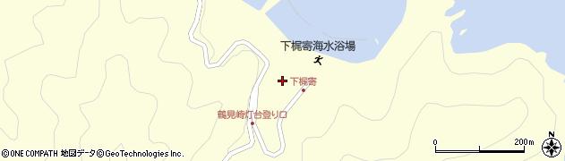 大分県佐伯市鶴見大字梶寄浦536周辺の地図