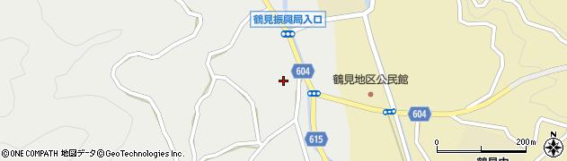 大分県佐伯市鶴見大字地松浦1338周辺の地図