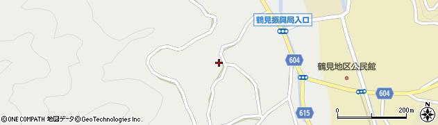 大分県佐伯市鶴見大字地松浦1165周辺の地図