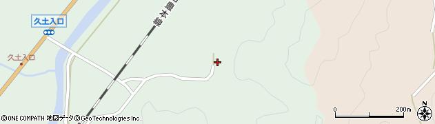 大分県佐伯市弥生大字江良2870周辺の地図