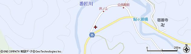 大分県佐伯市本匠大字井ノ上256周辺の地図