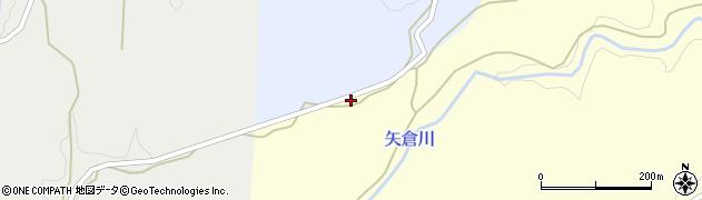 大分県竹田市穴井迫311周辺の地図