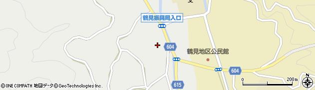 大分県佐伯市鶴見大字地松浦1343周辺の地図