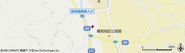 大分県佐伯市鶴見大字地松浦1987周辺の地図