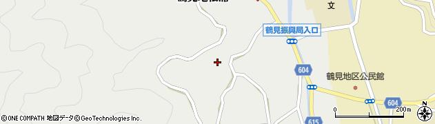 大分県佐伯市鶴見大字地松浦1135周辺の地図