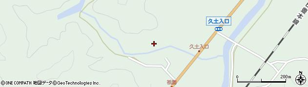 大分県佐伯市弥生大字江良1457周辺の地図