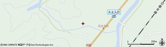 大分県佐伯市弥生大字江良1458周辺の地図