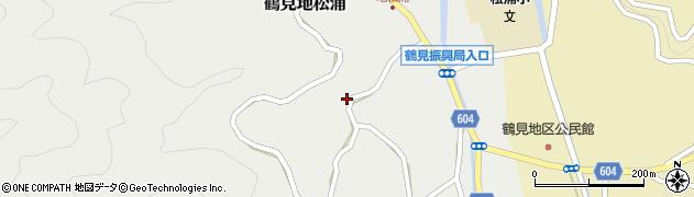 大分県佐伯市鶴見大字地松浦1128周辺の地図