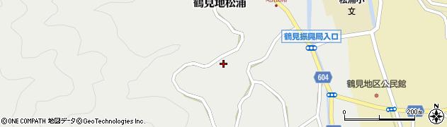 大分県佐伯市鶴見大字地松浦1035周辺の地図